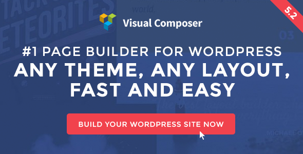 Visual Composer: Page Builder для WordPress
